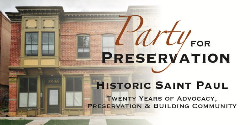 Party for Preservation October 23, 2019