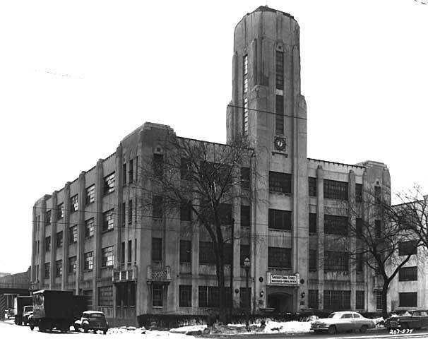 1222 University Avenue as Snyder's Drug Stores, general office, 1952