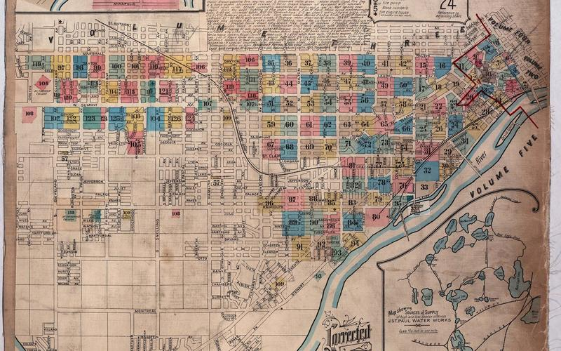 Image from 1903 Sanborn Maps