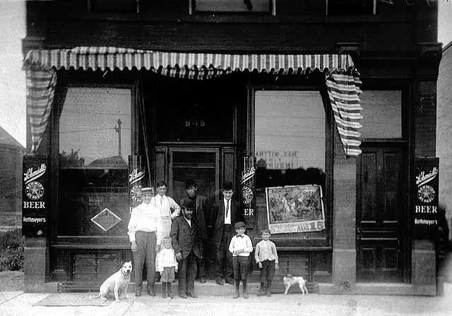 Andrew L. Rothmeyer's Saloon, 949 West Seventh Street, St. Paul, c 1910