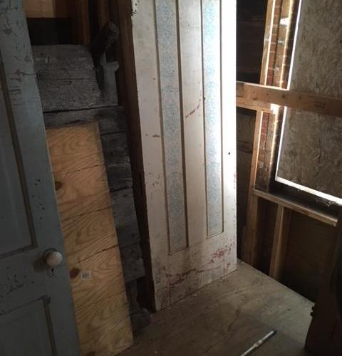 Donated period doors