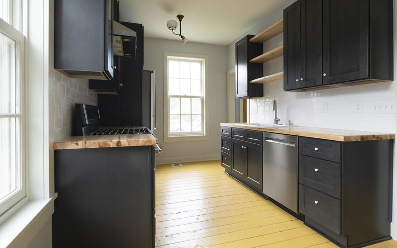 Kitchen in 412 Goodrich after renovation