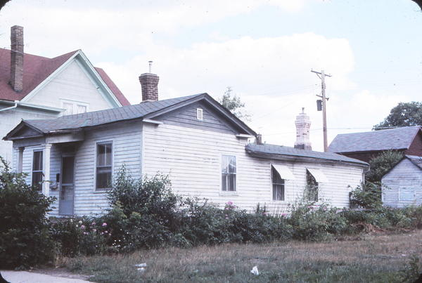 1970's photo of 412 Goodrich by architectural historian Tom Lutz