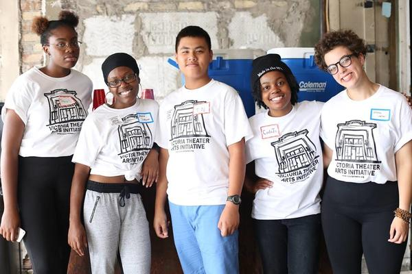 The 4 youth fellows that were hired as part of the community engagement process.